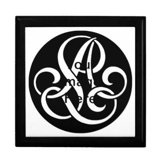 AL-LA-Monogram Gift Box