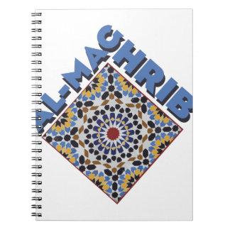 Al-Maghrib Tile Notebook