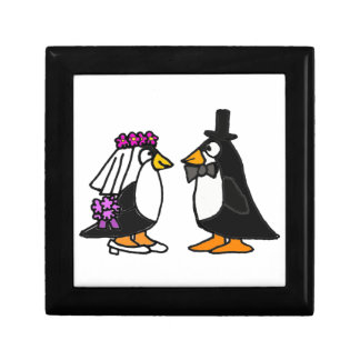 AL- Penguin Wedding Gift Box