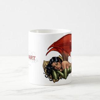 Al Rio Art Devil Girl (taking a nap) Coffee Mug