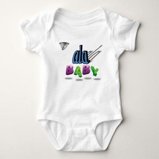 ala Custom Baby Bodysuit