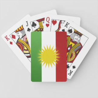 Ala Kurdistan li ser karta  lîstik Playing Cards