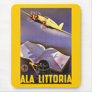 Ala Littoria Mouse Pad