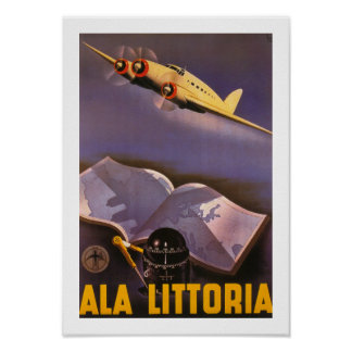 Ala Littoria Poster