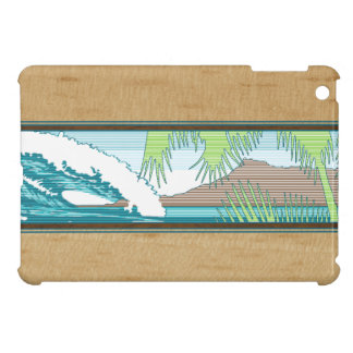 Ala Moana Hawaiian Surf Sign iPad Mini Cases
