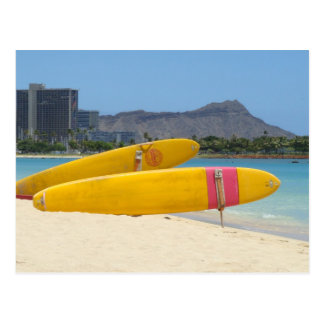 Ala Moana Surfboards Postcard