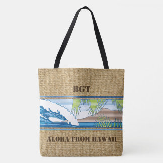 Ala MoanaHawaiian Monogram Beach Bag