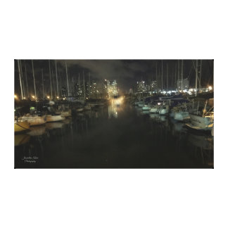 Ala Wai Harbor Canvas by Jacqueline Kruse