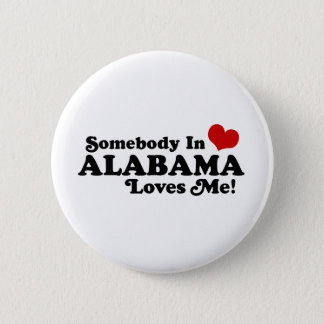 Alabama 2 Inch Round Button