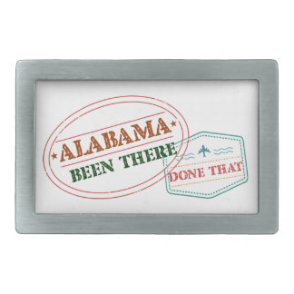Alabama Been There Done That Belt Buckles