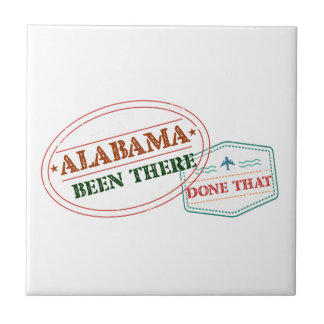 Alabama Been There Done That Tile