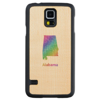 Alabama Carved Maple Galaxy S5 Case