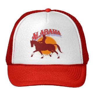 Alabama dressage sunrise cap trucker hat