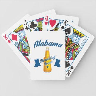 Alabama Drinking team Bicycle Playing Cards