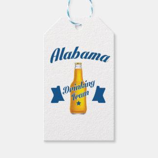 Alabama Drinking team Gift Tags