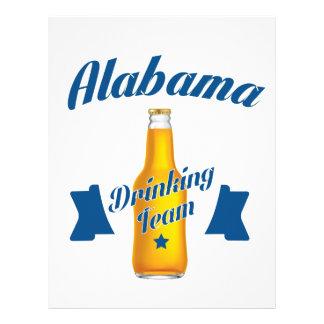Alabama Drinking team Letterhead