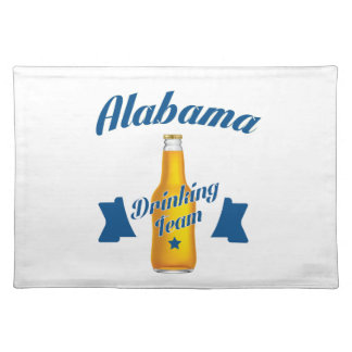 Alabama Drinking team Placemat