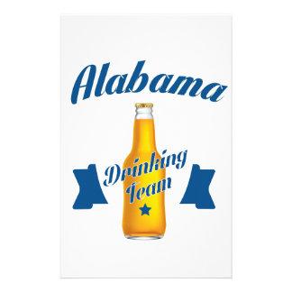 Alabama Drinking team Stationery