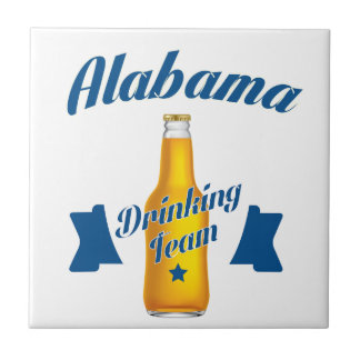 Alabama Drinking team Tile