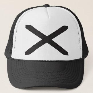 Alabama Flag - Black Trucker Hat