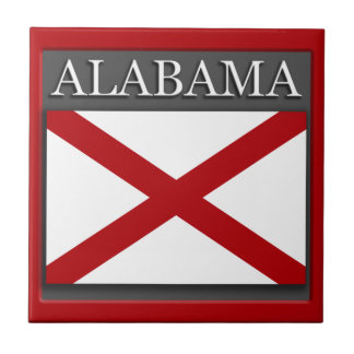 Alabama Flag Tile