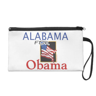 Alabama for Obama Election Wristlet Clutches