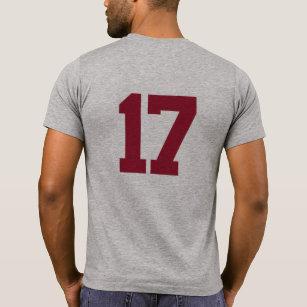 Alabama Georgia Copy Paste Football V2 T-Shirt