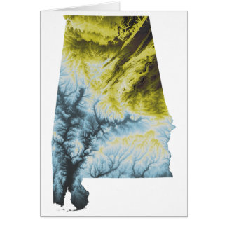 "Alabama Greeting Card- 5x7""- Envelopes Included Card"