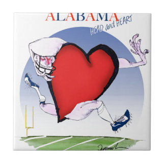 alabama head heart, tony fernandes ceramic tile