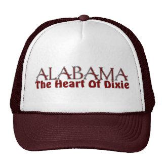Alabama heart of Dixie hats