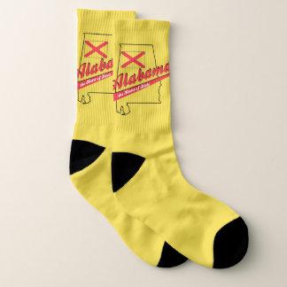 Alabama Heart of Dixie Socks