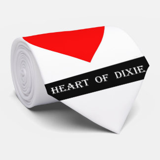 Alabama Heart of Dixie Tie