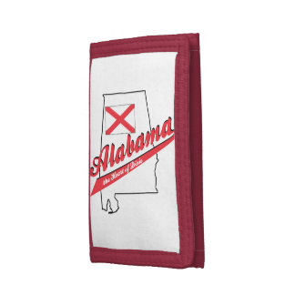 Alabama Heart of Dixie Tri-fold Wallet
