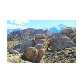Alabama Hills Afternoon Canvas Print