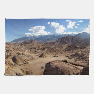 Alabama Hills and the Sierra Nevada Mountains Towel
