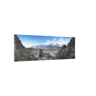 Alabama Hills Panorama - Owens Valley - Sierra Canvas Print