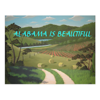 ALABAMA IS BEAUTIFUL POSTCARD
