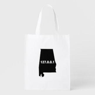 Alabama Is Home Programmer Reusable Grocery Bag