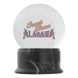Alabama is Home Snow Globe