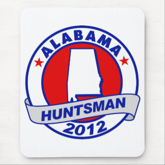 Alabama Jon Huntsman Mouse Pad