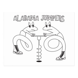 Alabama Jumpers Postcard