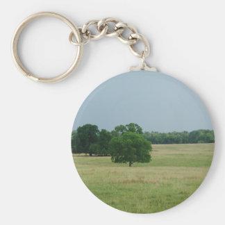 Alabama Landscape Basic Round Button Keychain