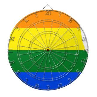 Alabama LGBT Flag Dartboard