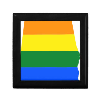 Alabama LGBT Flag Gift Box