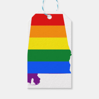 Alabama LGBT Flag Gift Tags