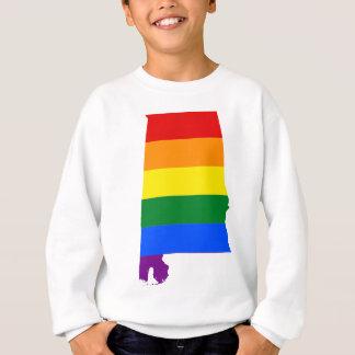 Alabama LGBT Flag Sweatshirt