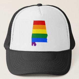 Alabama LGBT Flag Trucker Hat