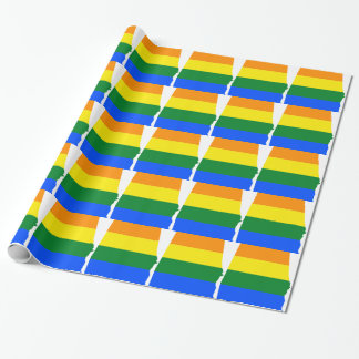 Alabama LGBT Flag Wrapping Paper