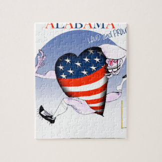 alabama loud and proud, tony fernandes jigsaw puzzle