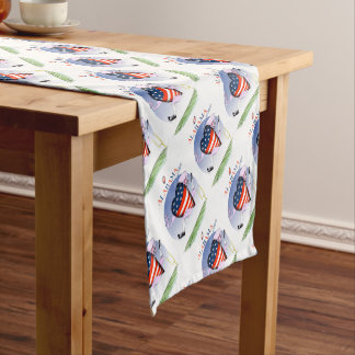 alabama loud and proud, tony fernandes short table runner